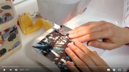 Come cucire un bordo spesso senza salto di punti
