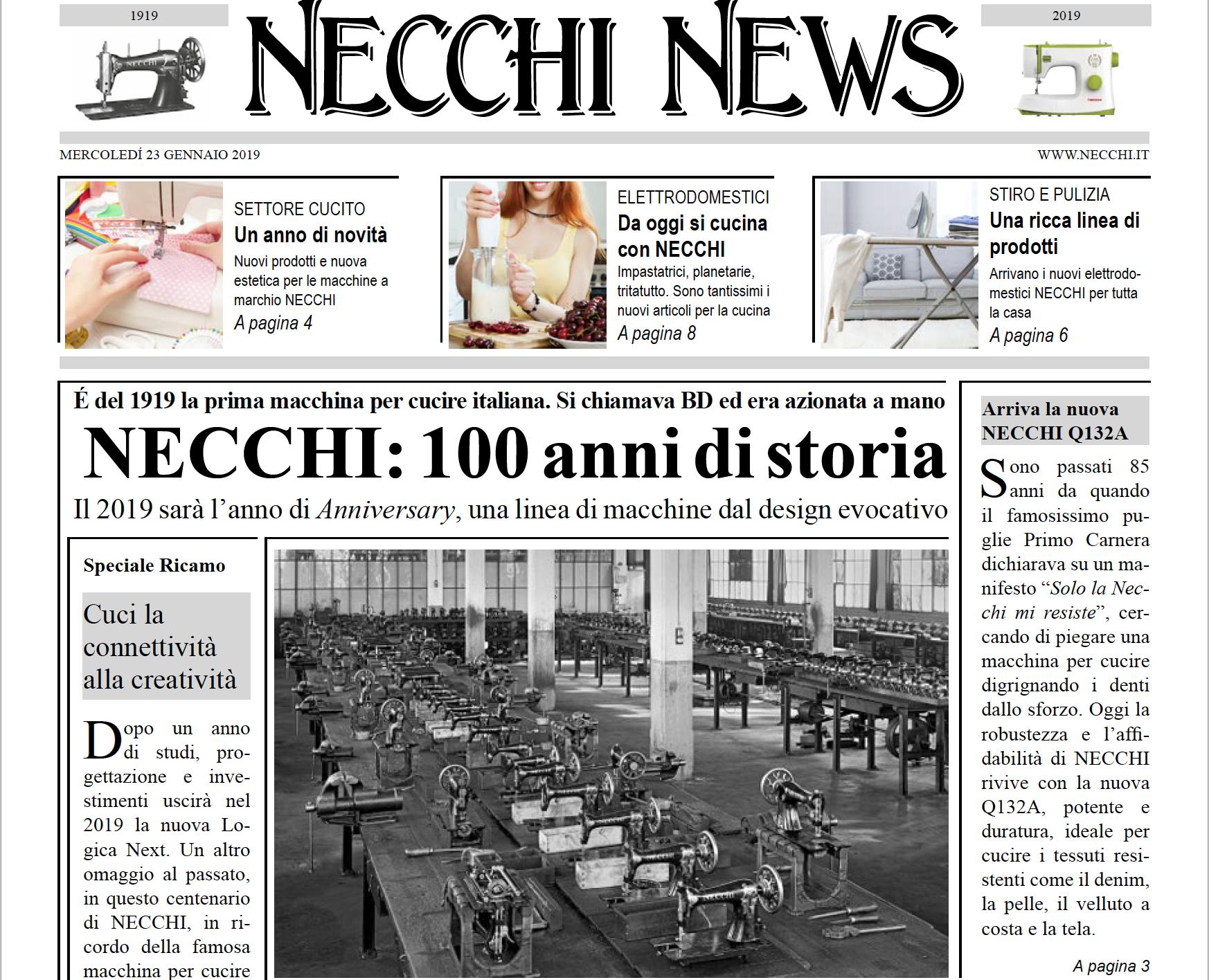 Necchi News